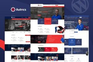Autrics汉化版-汽车服务和汽车修理工WordPress主题
