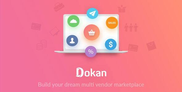 WordPress插件Dokan Pro汉化版v3.2.5:多商户多店铺支持WoCommerce扩展组件