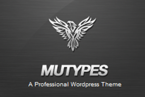 Mu Types -wordpress 白色整洁公司企业网站主题