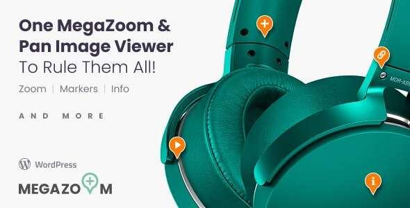 Mega Zoom & Pan Image Viewer-wordpress图像缩放插件