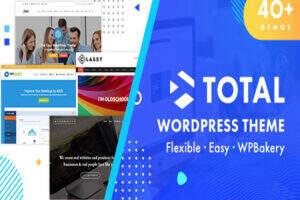 Total -响应式多用途企业建站WordPress主题