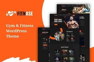 Fitnase – 健身房和健身WordPress主题