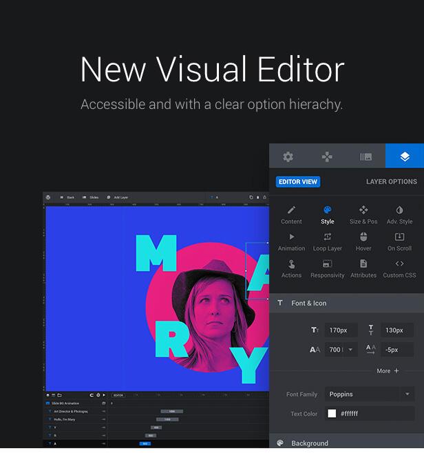 Slider Revolution-WordPress滑块革命幻灯片插件