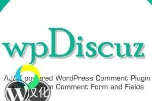 wpDiscuz汉化版-WordPress响应式评论插件