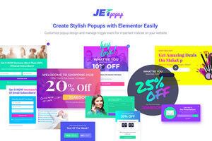 JetPopup汉化版-Elementor弹窗扩展插件