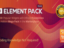 Element Pack 汉化版-Elementor扩展部件插件
