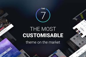 The7 含密匙可升级汉化版-WordPress多功能主题