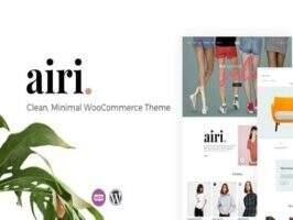 Airi-简约WooCommerce电商主题