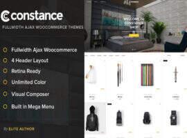 Constance-wordpress WooCommerce 商城主题