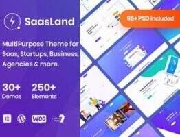 SaasLand – WordPress企业多用途主题