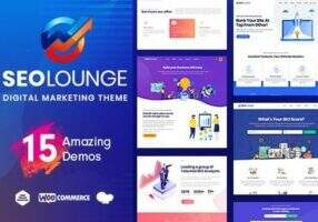SEOLounge v3.0.2 -WordPress数字营销、SEO公司等服务营销主题