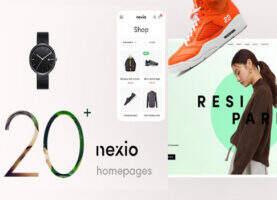 Nexio- wordpress时尚服饰在线商店WooCommerce主题