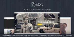 Story – 企业创意多用途WordPress主题