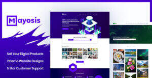 Mayosis 汉化版-wordpress虚拟商品销售主题