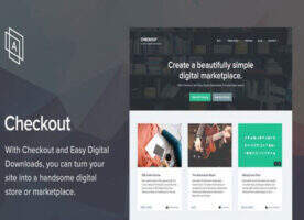 Checkou -虚拟数字商品交易WordPress主题