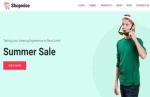 Shopwise 汉化版-WordPress时尚商城商业主题