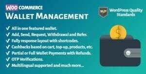 WooCommerce Wallet Management 汉化版-WordPress商城钱包功能插件