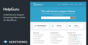 HelpGuru汉化版-WordPress知识库主题
