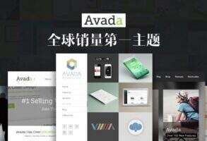 Avada 汉化版-WordPress 最牛的商务主题之一(含插件及汉化)