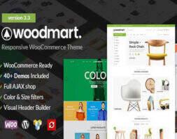 WoodMart 汉化版-wordpress高级商城、跨境电商主题