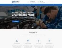 Autoser 汉化版-汽车维修和汽车服务WordPress主题