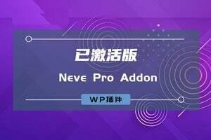 Neve Pro Addon汉化版-wordpress Neve主题扩展插件