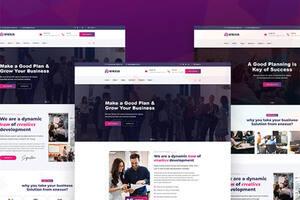 Enexus – wordpress 咨询业务企业网站主题