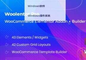 WooLentor Pro汉化版-WooCommerce页面生成器插件