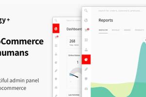 Energy+ WooCommerce管理面板后端界面美化插件