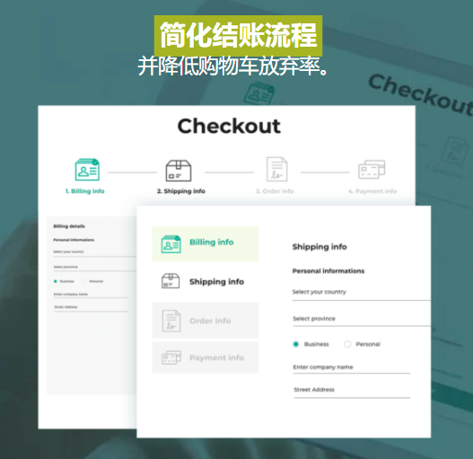 YITH WooCommerce Multi-step Checkout Premium-WooCommerce结账插件