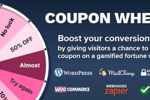 Coupon Wheel 汉化版-WooCommerce抽奖转盘促销插件