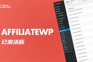 AffiliateWP 汉化版-WordPress会员管理插件(含所有Addons Pro扩展插件)