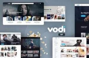 Vodi 汉化版 -电影和电视节目的视频WordPress主题