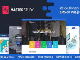 Masterstudy 汉化版-WordPress教育培训主题