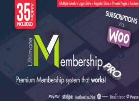 Ultimate Membership Pro汉化版-WordPress超级会员管理插件