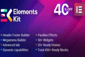 ElementsKit  汉化版-Elementor 终极多合一附加扩展插件