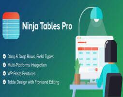 Ninja Tables Pro 专业汉化版 -WordPress表格设计器插件
