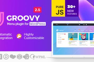 Groovy Mega Menu – WordPress 响应式超级菜单插件