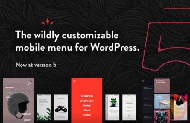 TapTap 汉化版 -WordPress响应式移动菜单插件