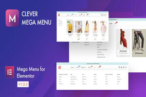 Clever Mega Menu Pro for Elementor汉化版-Elementor超级菜单