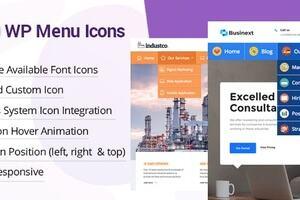 WP Menu Icons 汉化版-WordPress自定义菜单图标插件