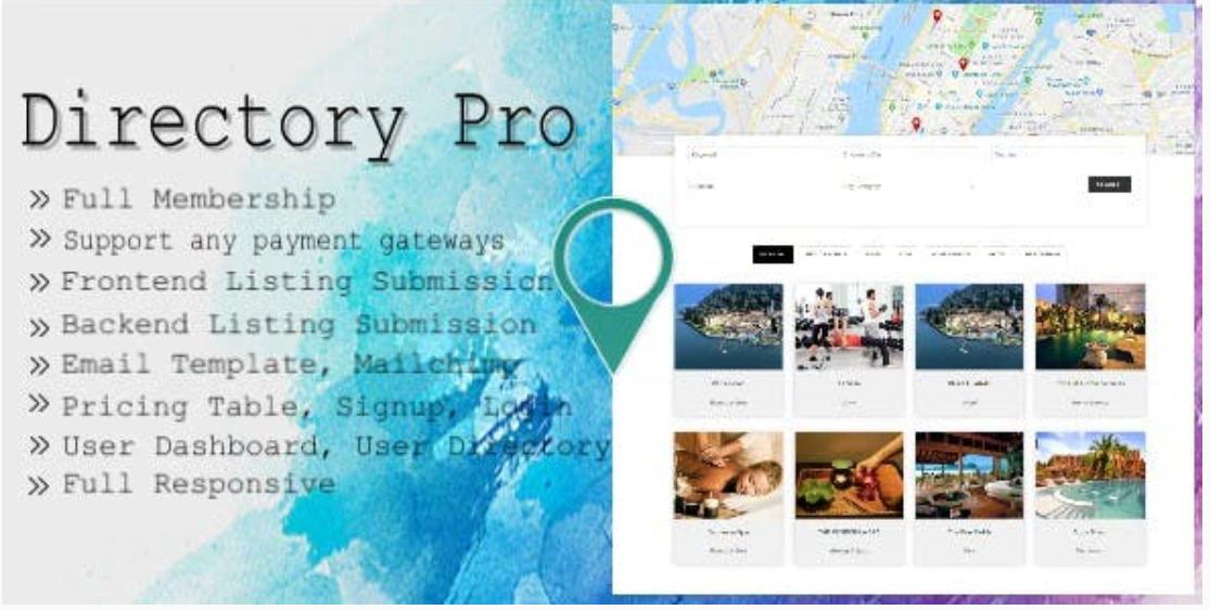 Directory Pro  汉化版-Worder商家目录列表插件