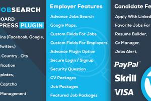 JobSearch 汉化版- WordPress求职招聘系统插件