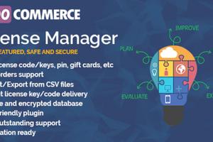 WooCommerce License Manager汉化版-WooCommerce销售许可证密钥插件
