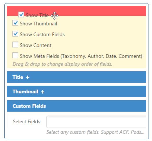 Content Views PRO-完全控制显示哪些信息
