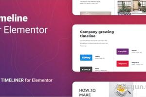 Timeliner for Elementor -Elementor 时间表插件