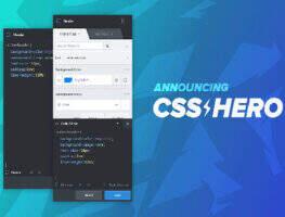 CSSHero 汉化版-WordPress可视化CSS编辑器插件