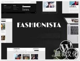 Fashionista汉化版-WordPress响应式 彻体网格主题