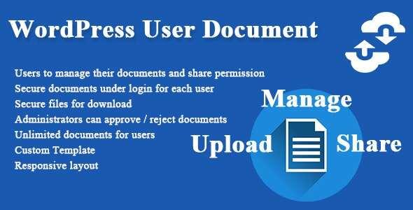 UDoc 插件-文档创建编辑管理器wordpress插件