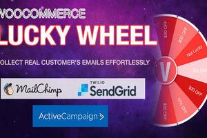 Woocommerce Lucky Wheel Premium汉化版-WordPress幸运转盘插件